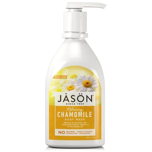 Jasons Natural Organic Chamomile Body wash With Pump